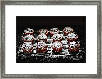 Oven Fresh Cupcakes Framed Print by Jorgo Photography - Wall Art Gallery