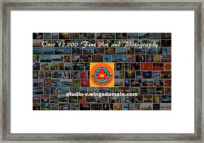 Framed Print featuring the photograph Over 12000 Unique Fine Art And Photography There's A Holiday Gift Here For Everyone by Wingsdomain Art and Photography