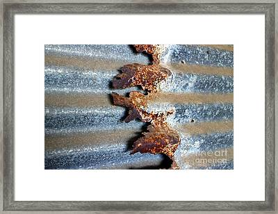 Framed Print featuring the photograph Over And Above by Stephen Mitchell