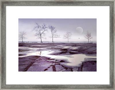 Over And Over Again Framed Print by Diana Angstadt