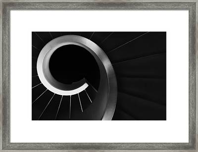Over And Under Framed Print by Paulo Abrantes