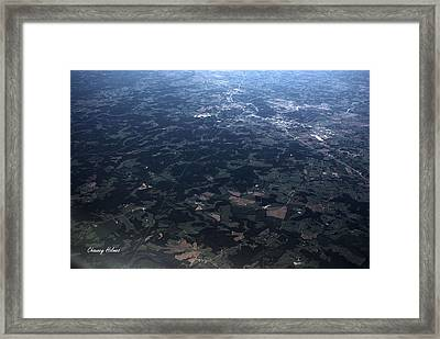 Over Florida Framed Print by Chauncy Holmes