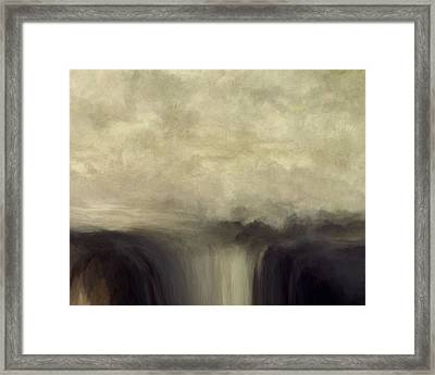Over Flow Framed Print