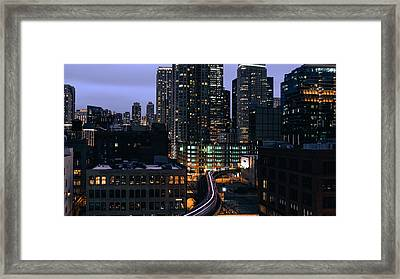 Over L  Framed Print