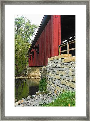 Over Still Waters Framed Print