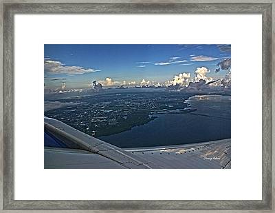 Over Tampa Framed Print by Chauncy Holmes