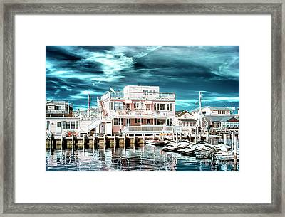 Over The Bay Infrared Framed Print by John Rizzuto