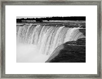 Over The Dam Framed Print