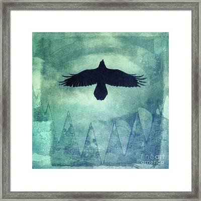 Over The Edges Framed Print by Priska Wettstein