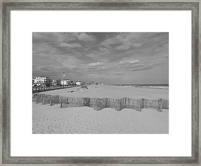 Over The Fence Framed Print by Joe  Burns