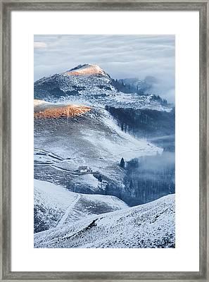 Over The Frosty Mist Framed Print by Evgeni Dinev