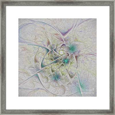 Over The Hill And Dale Framed Print by Deborah Benoit