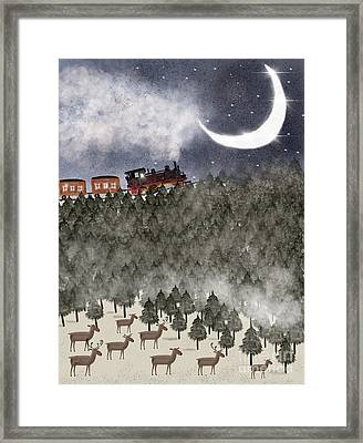 Over The Hill And Far Away Framed Print