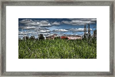 Over The Hill And Through The Prairie Framed Print by Deborah Klubertanz