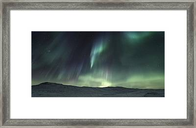 Over The Hills Framed Print by Tor-Ivar Naess
