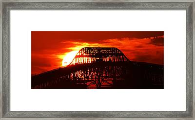 Over The Hump Framed Print by John Glass