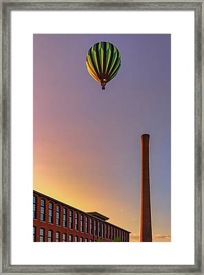 Framed Print featuring the photograph Over The Old Mill by Rick Berk