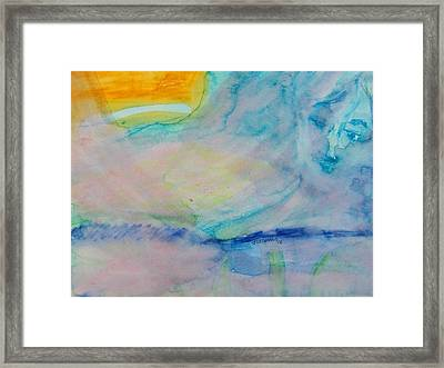 Over The Rainbow Framed Print by Judith Redman