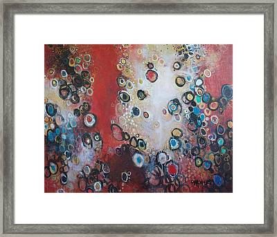 Over The Rainbow Framed Print by Laurie Maves ART