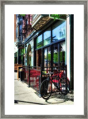 Over The Rhine In Cincinnati # 10 Framed Print by Mel Steinhauer