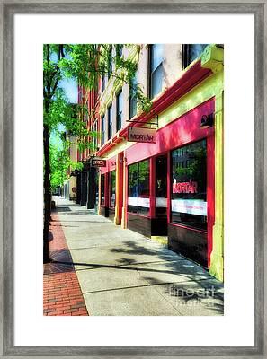 Over The Rhine In Cincinnati # 2 Framed Print by Mel Steinhauer