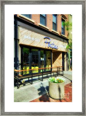 Framed Print featuring the photograph Over The Rhine In Cincinnati # 3 by Mel Steinhauer