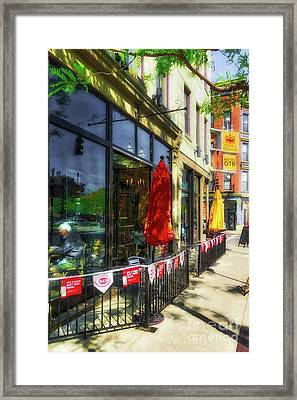 Framed Print featuring the photograph Over The Rhine In Cincinnati # 6 by Mel Steinhauer