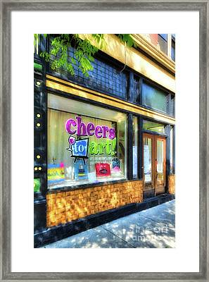 Framed Print featuring the photograph Over The Rhine In Cincinnati # 7 by Mel Steinhauer