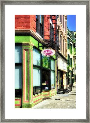 Framed Print featuring the photograph Over The Rhine In Cincinnati # 8 by Mel Steinhauer