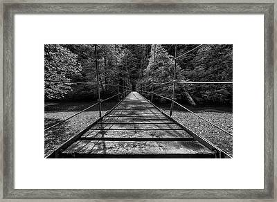 Over The River And Through The Woods Framed Print by Stephen Stookey