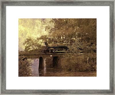 Over The River Framed Print by Scott Hovind