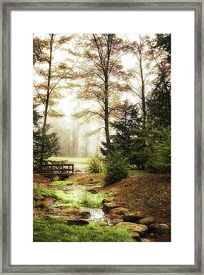 Over The River Framed Print
