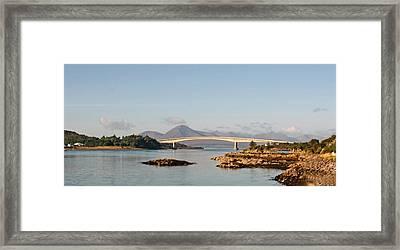 Over The Sea To Skye Framed Print