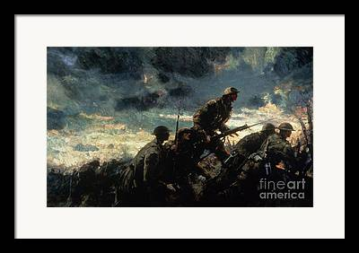 First World War Framed Prints