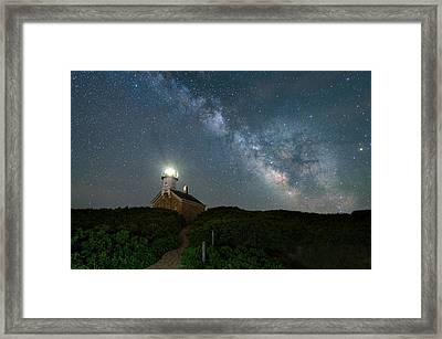 Over The Top Framed Print
