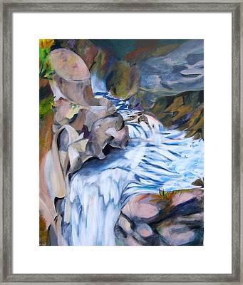 Over The Top Framed Print by Patricia Bigelow