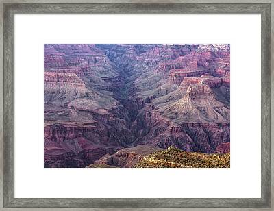 Over The Years - Grand Canyon, Arizona Framed Print by Gregory Ballos