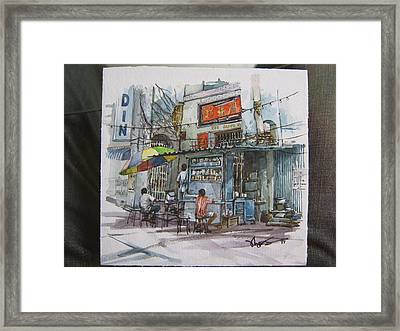Over There Framed Print by Richard Ong