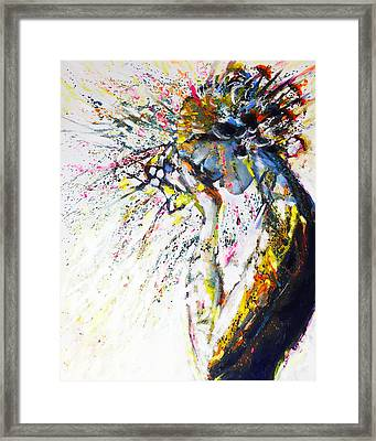 Over Thinking? Framed Print by Charles Wallis
