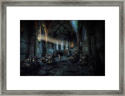 Over Time Framed Print by Nathan Wright