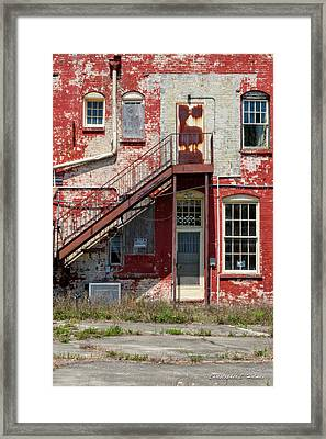 Over Under The Stairs Framed Print by Christopher Holmes