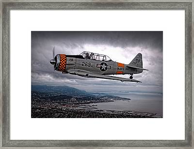 Over Under Framed Print
