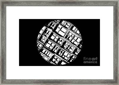 Over View Framed Print by Urban Images