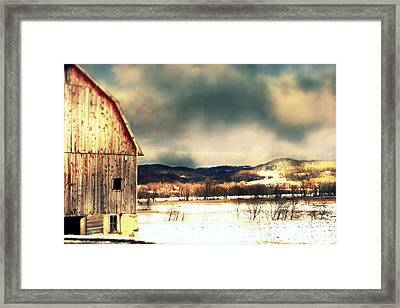 Over Yonder Framed Print by Julie Hamilton
