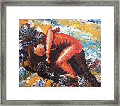Overburdened Framed Print by Suzanne  Marie Leclair