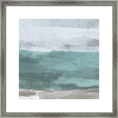 Overcast- Art By Linda Woods Framed Print