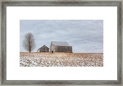 Overcast Framed Print by Bill Wakeley