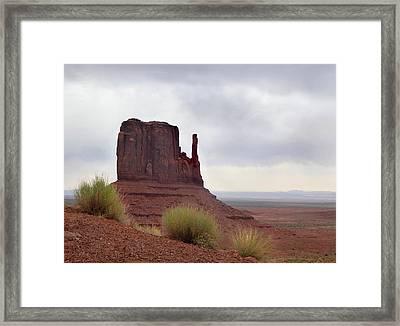 Overcast Valley Framed Print by Gordon Beck