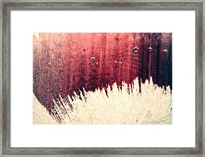 Overdub Framed Print by Ryan Kelly