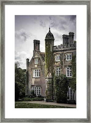 Overgrown Mansion Framed Print by Joana Kruse